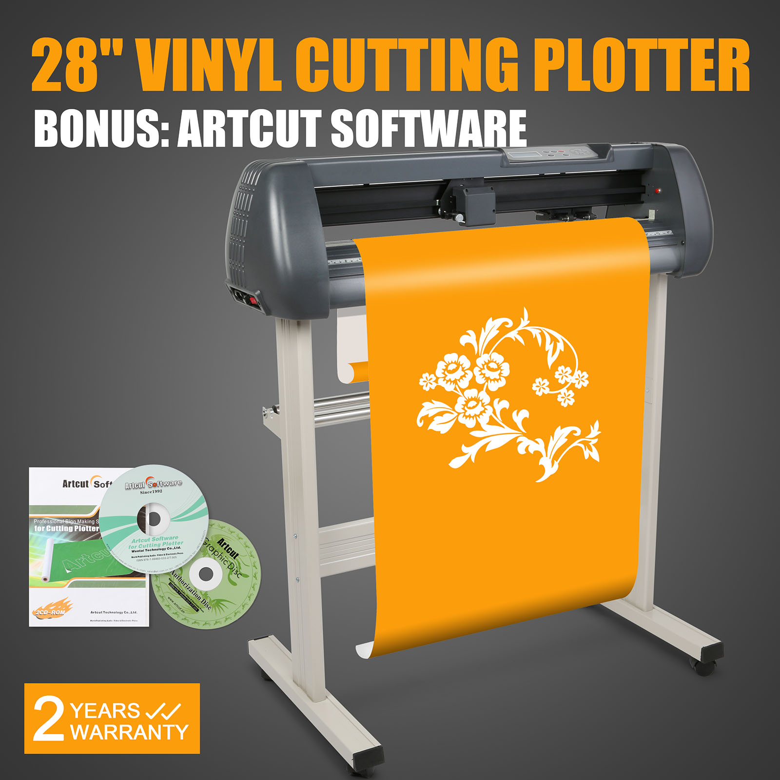 720mm Vinyl Cutting Plotter Sign Cutter 28 Quot Usb Port