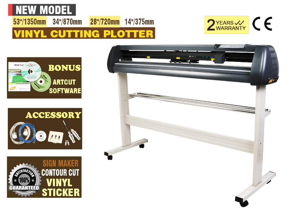 14 vinilo plotter de corte arte software cortador kit de for Plotter de mesa